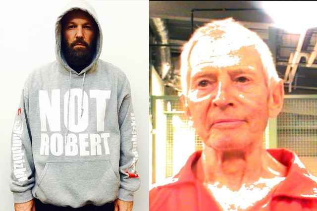 Robert Durst (R) and Not Robert Durst (L)
