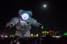 Coachella Astronaut Lollapalooza Selfie Stick Ban