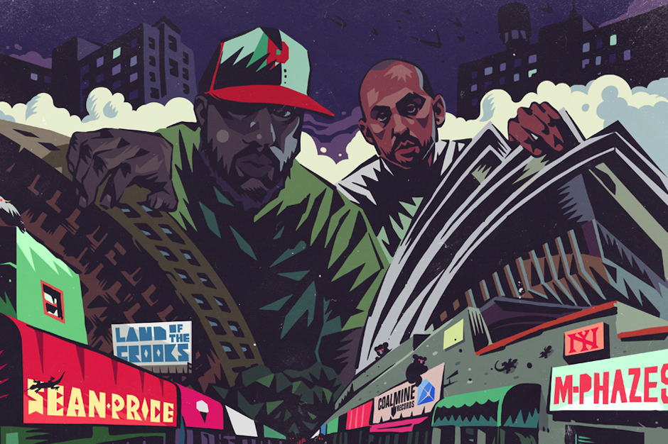 Cover art for 'Land of the Crooks'