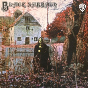 Black Sabbath self-titled album cover