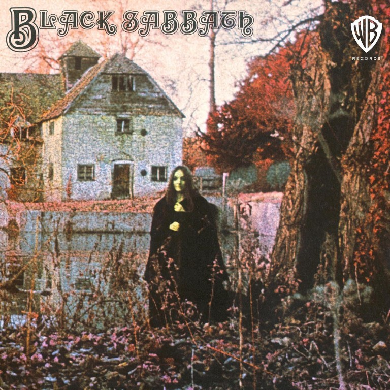 Black Sabbath self-titled album cover
