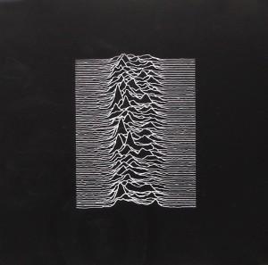 Joy Division Unknown Pleasures album cover