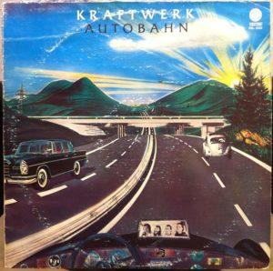 Kraftwerk Autobahn album cover