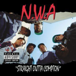 NWA Straight Outta Compton album cover