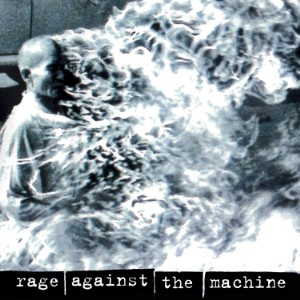 Rage Against the Machine self-titled album cover