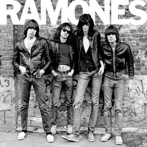 Ramones self-titled album cover
