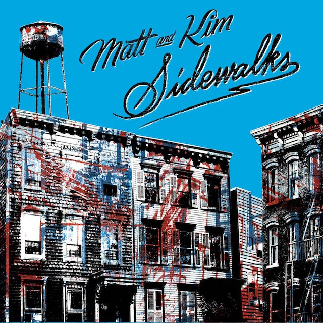 matt and kim, sidewalks, review