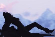 Kim Kardashian in 'Bound 2'