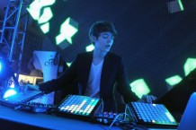 Madeon performs a DJ set