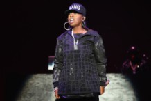 Missy Elliott performs during New York City's Fashion Week