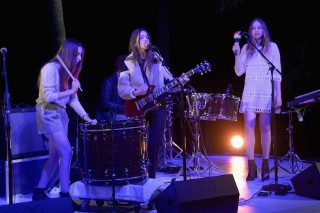 Haim Sleepily Covered the Beach Boys' 'Surfer Girl' With