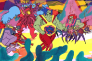 Lightning Bolt Travel to 'The Metal East' in Trippy, Frantic Video