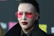 Marilyn Manson Allegedly Punched in the Face at a Canadian Denny's