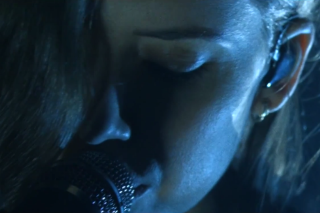 Lykke Li Swirls Around Gloomily While Covering Drake's 'Hold On, We're Going Home'