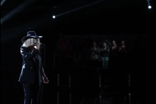 Sia Keeps It Simple During 'Elastic Heart' Performance on 'The Voice'