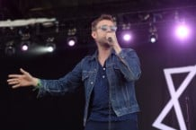 Damon Albarn at Bonnaroo 2014