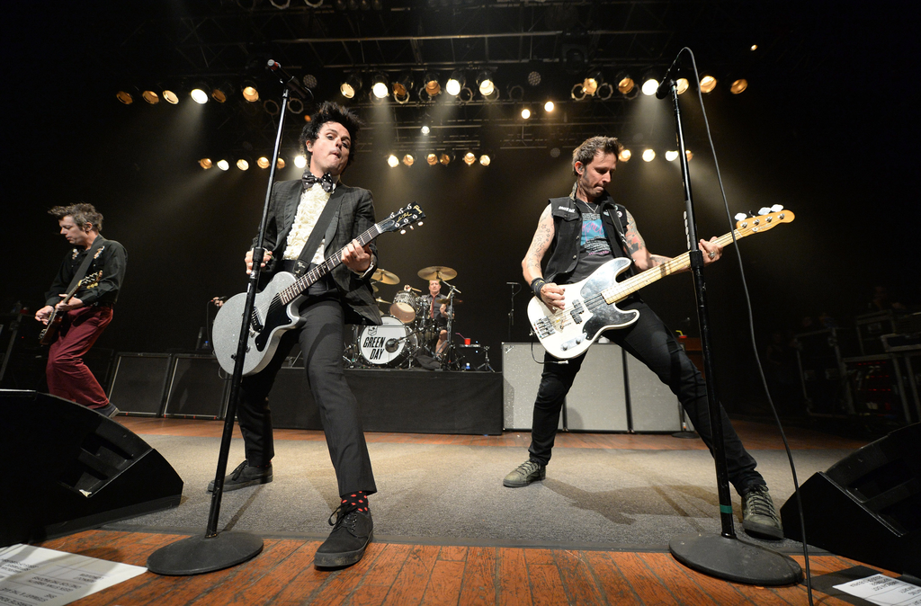 green day, house of blues, cleveland