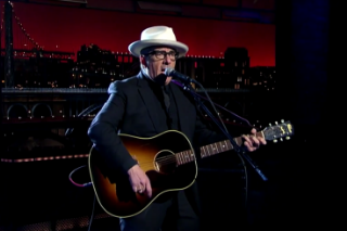 Elvis Costello Plays 'Letterman' for the 27th and Final Time