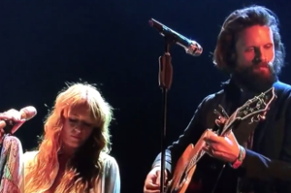 Watch Father John Misty Perform With Florence + the Machine at Coachella