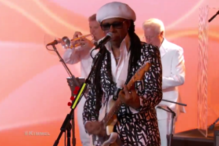 Chic and Nile Rodgers Promise 'I'll Be There' on 'Kimmel'