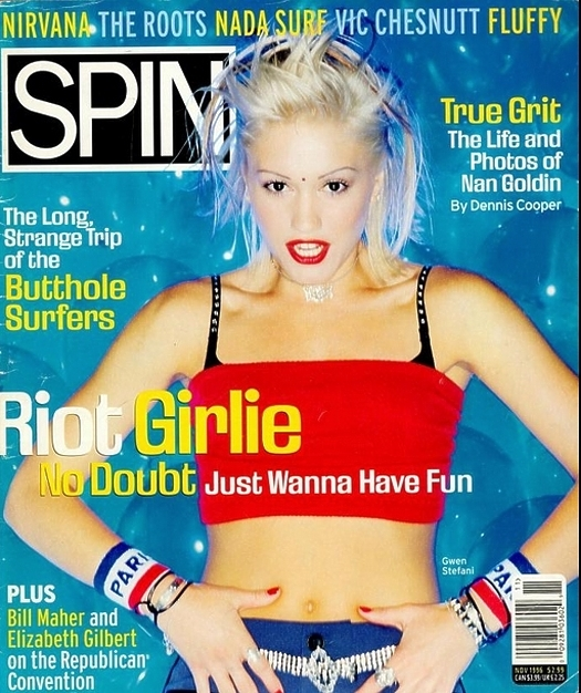 Spin 1996 No Doubt