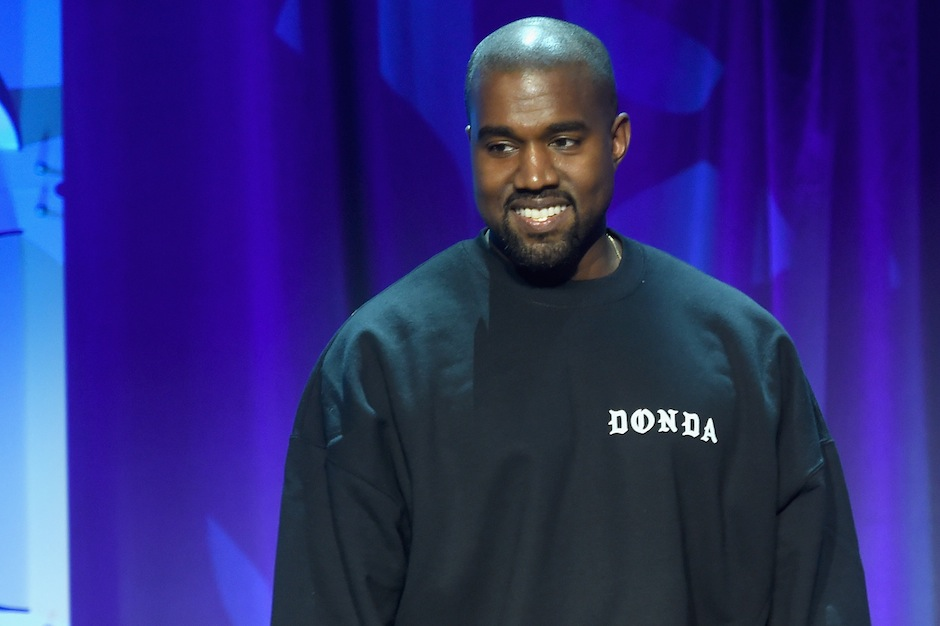 Kanye West at the Tidal launch