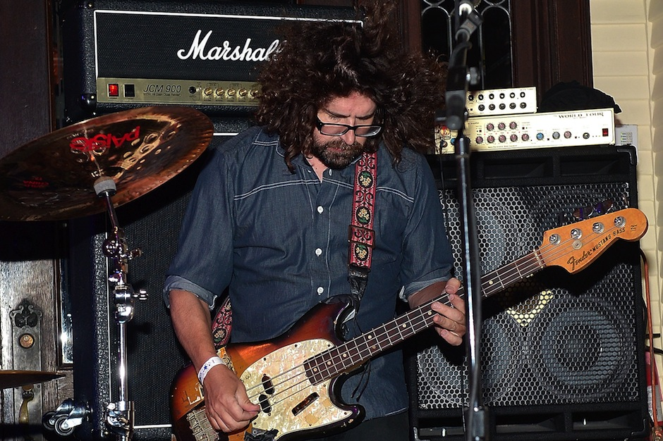 Lou Barlow live with Dinosaur Jr. in 2014