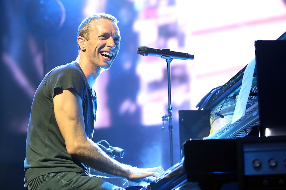 Coldplay live in 2014