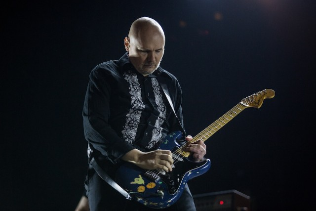 Billy Corgan at Lollapalooza 2015