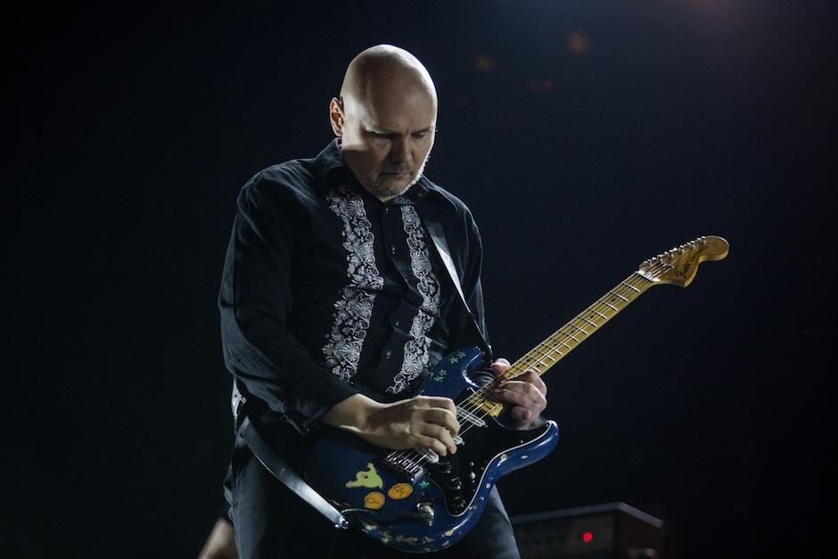 Billy Corgan at Lollapalooza 2015