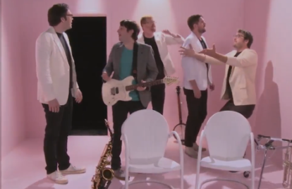Mikal Cronin's 'Say' Video Is a Bloody Riff on Paul Simon's 'You Can Call Me Al'