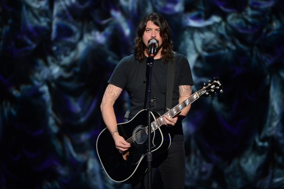 Dave Grohl live in 2014