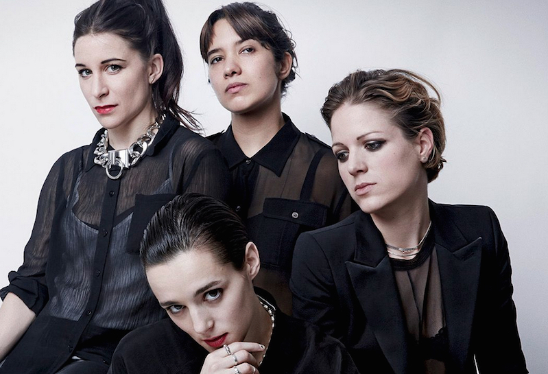 female fronted bands savages
