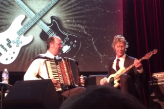 Duff McKagan and Krist Novoselic Covered 'Sweet Child O' Mine' With an Accordion and Bass