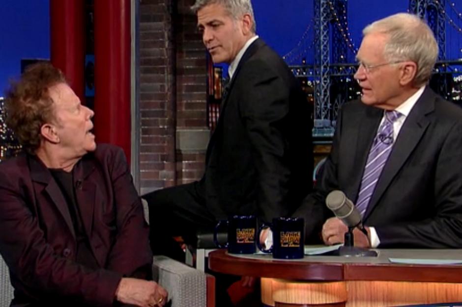Tom Waits and David Letterman