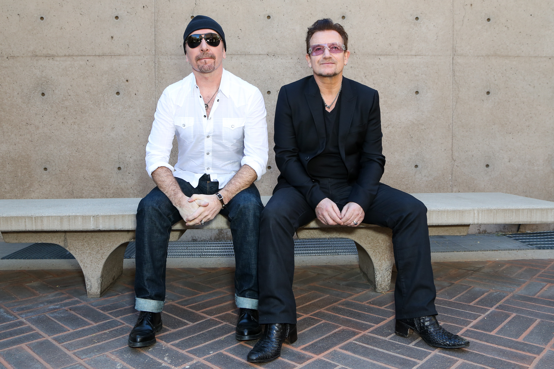 25th Annual Palm Springs International Film Festival - Talking Pictures: Bono, The Edge, Idris Elba, Naomie Harris