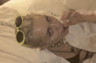 Zoe Kravitz and Miley Cyrus Hang Out Pantsless in 'Bitch' Video