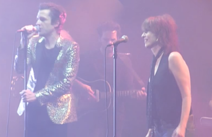 Watch Brandon Flowers Perform the Pretenders' 'Don't Get Me Wrong' With Chrissie Hynde