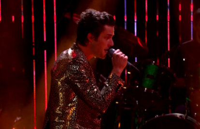 Brandon Flowers Brings His 'Lonely Town' to the 'Late Late Show'