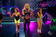 Britney Spears and Iggy Azalea Launch Into Space for Debut 'Pretty Girls' Performance