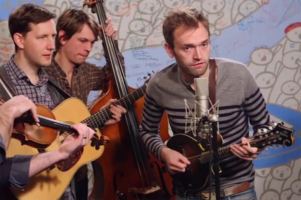 Punch Brothers Offer A Frantic Bluegrass Take On The