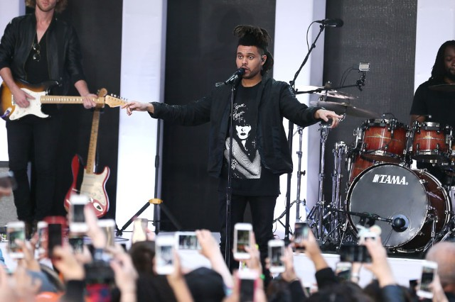 The Weeknd Perform On NBC's