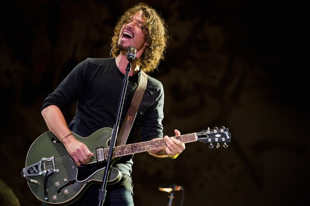 Chris Cornell live in 2014