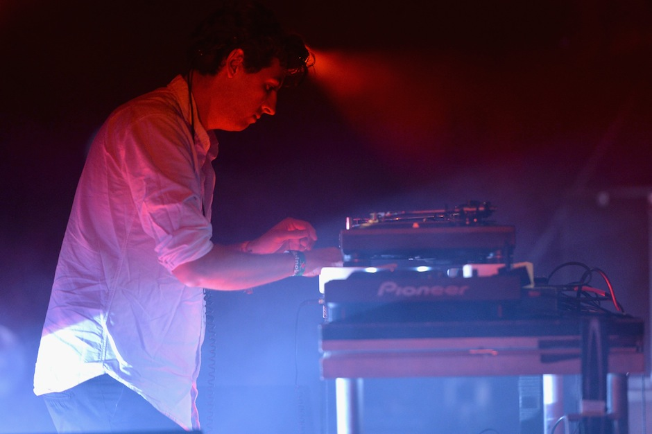 Jamie xx at Coachella 2015