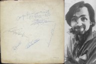 Charles Manson Signed a Copy of the Beatles' 'White Album,' and It's On Sale