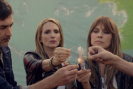 Veruca Salt Burn in Reverse on 'Laughing in the Sugar Bowl' Video