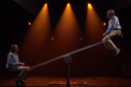 James Taylor Rides a Seesaw With James Taylor, Because Why Not?