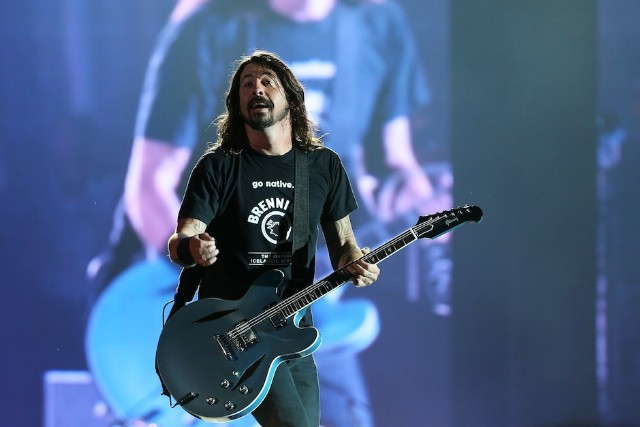 Foo Fighters Perform Live In Auckland