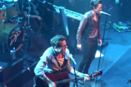 Watch Brandon Flowers Cover His Opening Act's Song at the End of a Concert