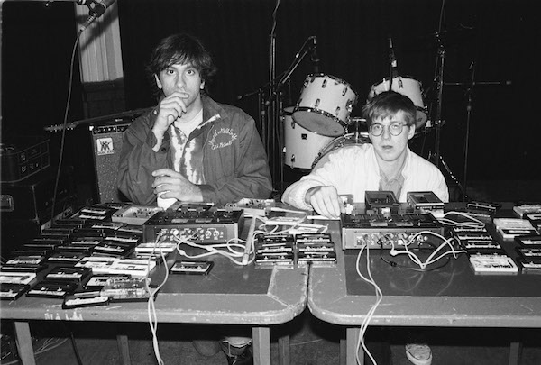 Lee Ranaldo Steve Shelley 1988